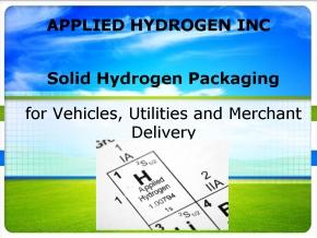 Applied Hydrogen Presentation